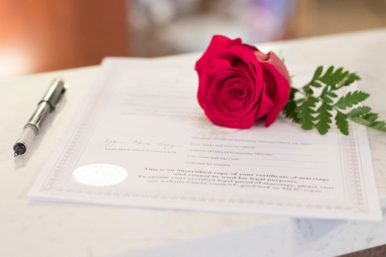 """""""Marriage License"""" by thelittlevegaschapel is licensed under CC BY-ND 2.0"""